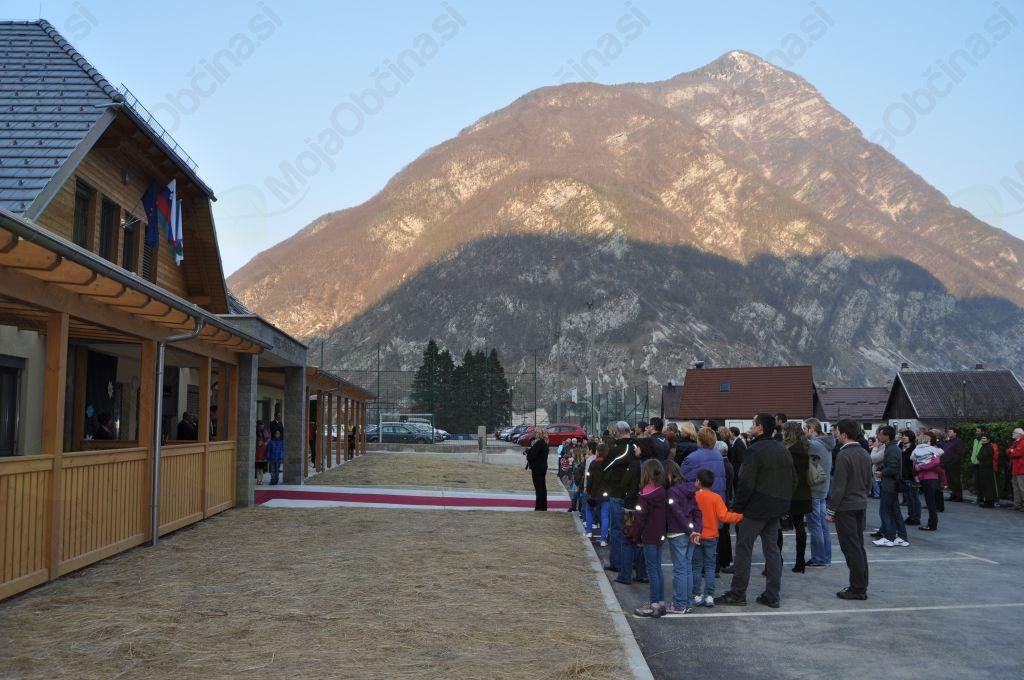 Na Žagi dočakali še uradno odprtje nove šole z vrtcem