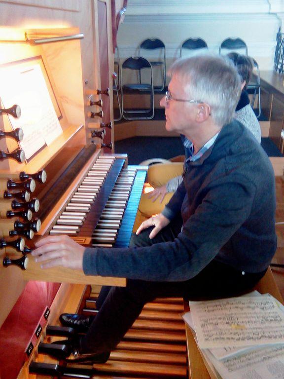 Orgelski koncert v šentviški cerkvi