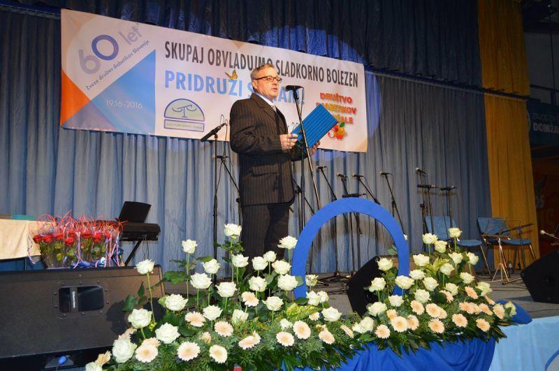 Jubilejno srečanje diabetikov v Domžalah