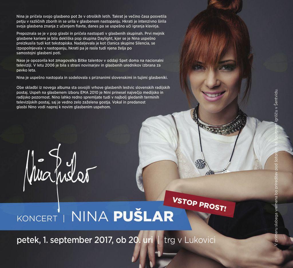 Koncert Nine Pušler