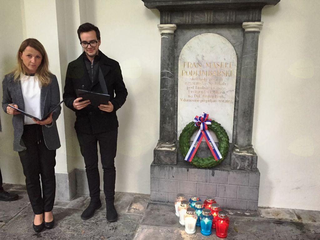 Stoletnica smrti Frana Maslja Podlimbarskega