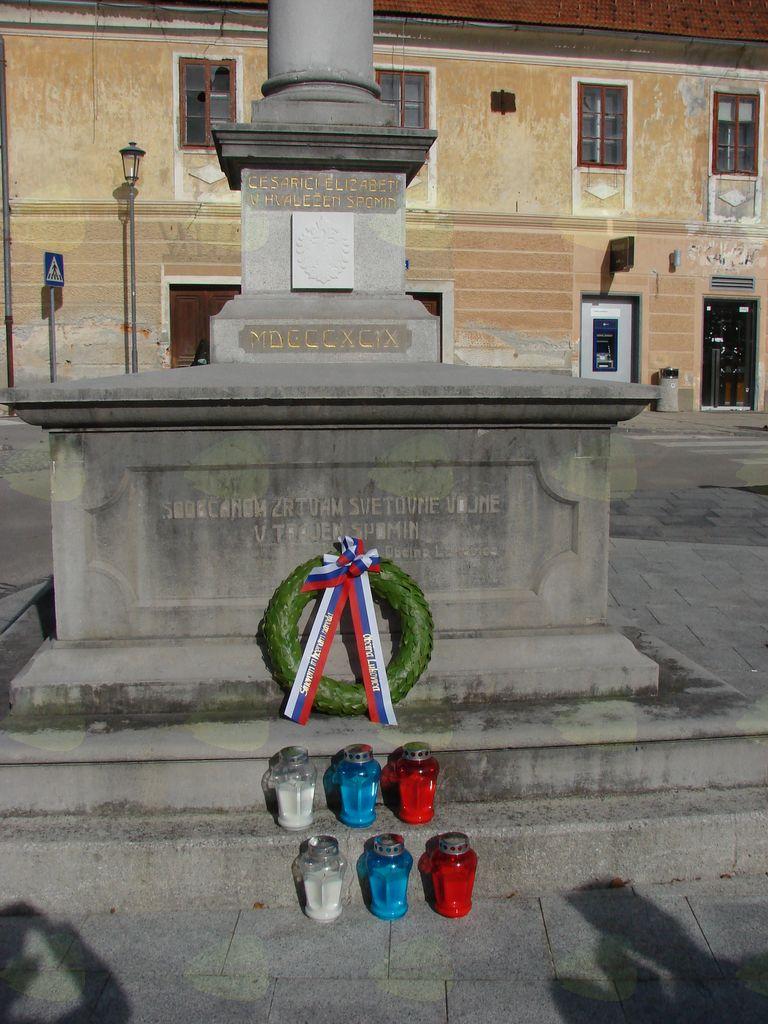 Županov priklon žrtvam 1. in 2. svetovne vojne
