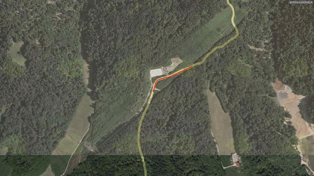 Rekonstrukcije cestišča Šentvid - Zlato Polje