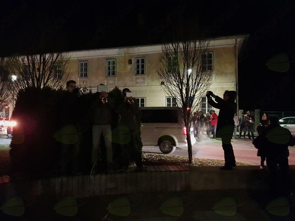Prižig prazničnih lučk v Lukovici