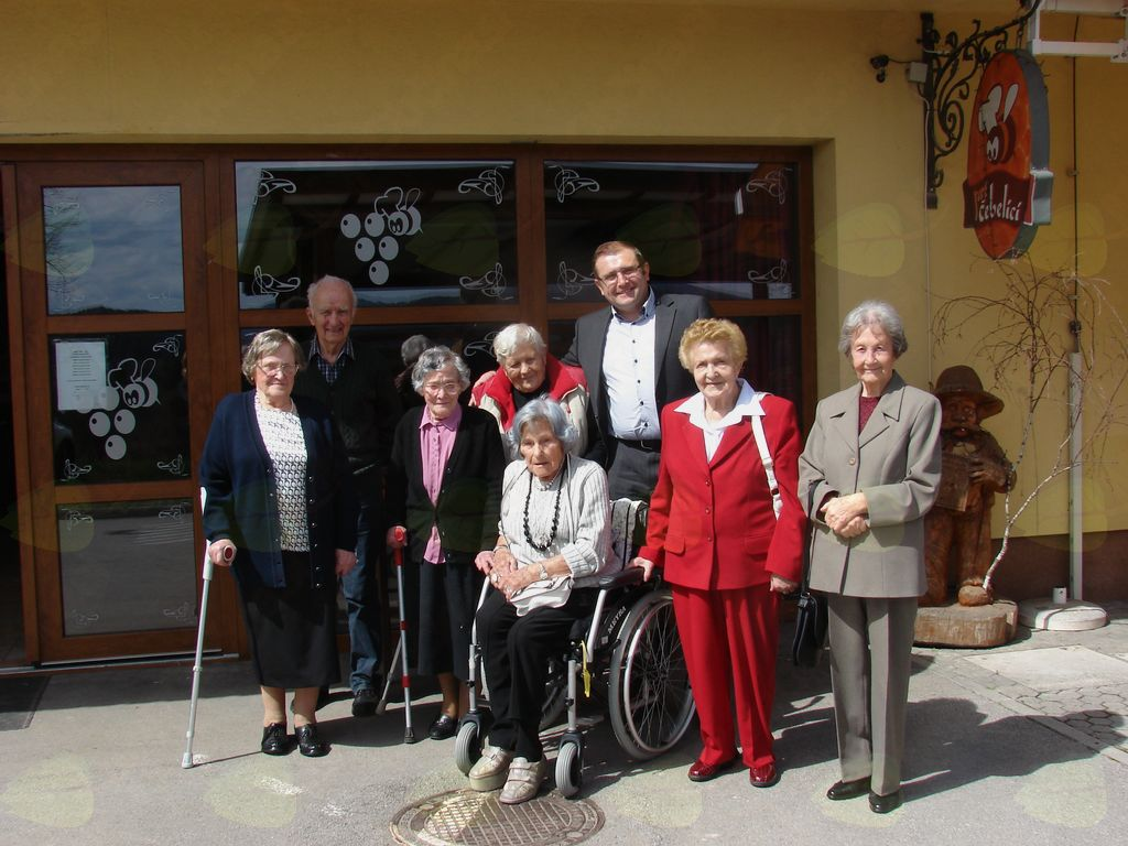 Srečanje najstarejših občanov Lukovice