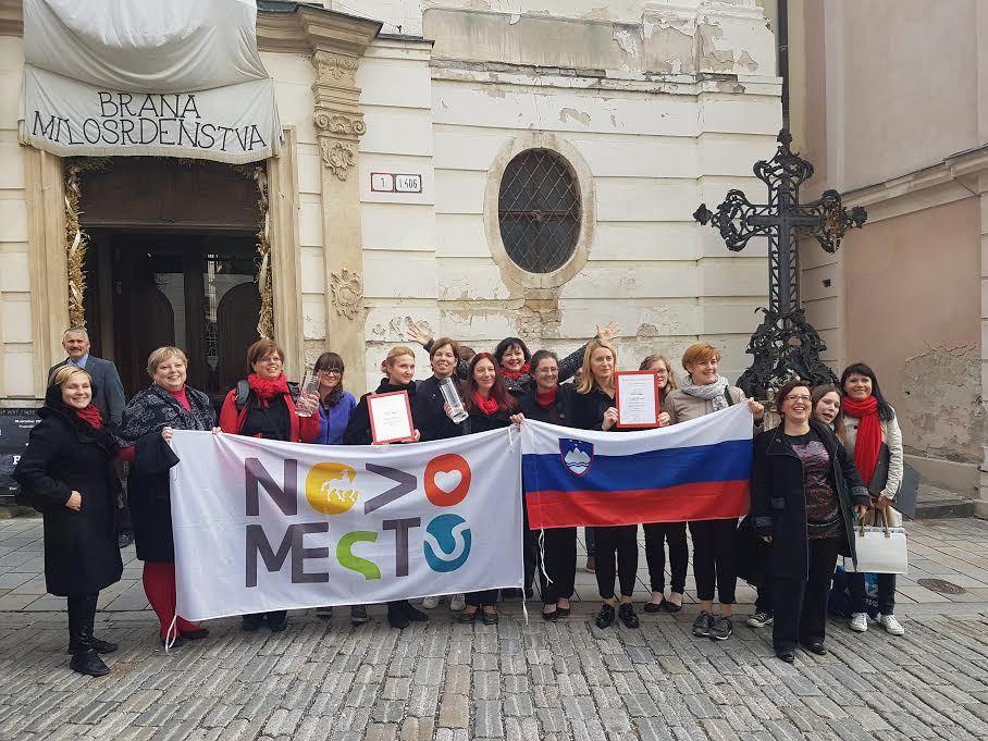 Vokalna skupina Mezzo je iz Bratislave prinesla odlične rezultate
