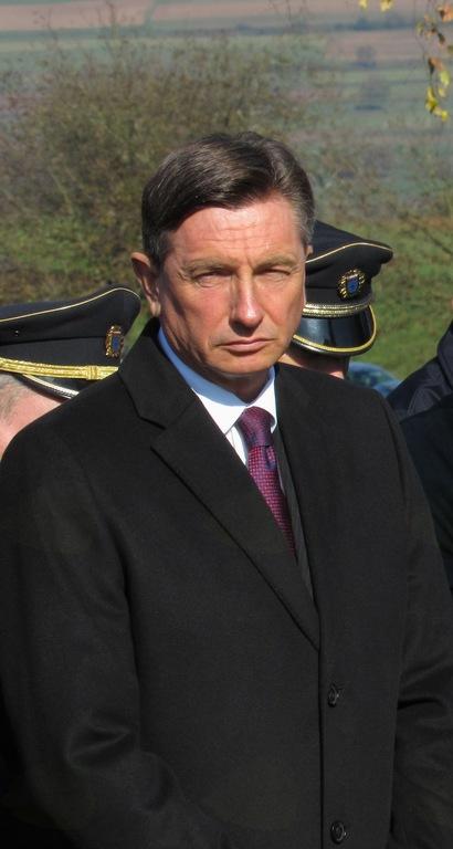 S predsednikom Pahorjem na potice