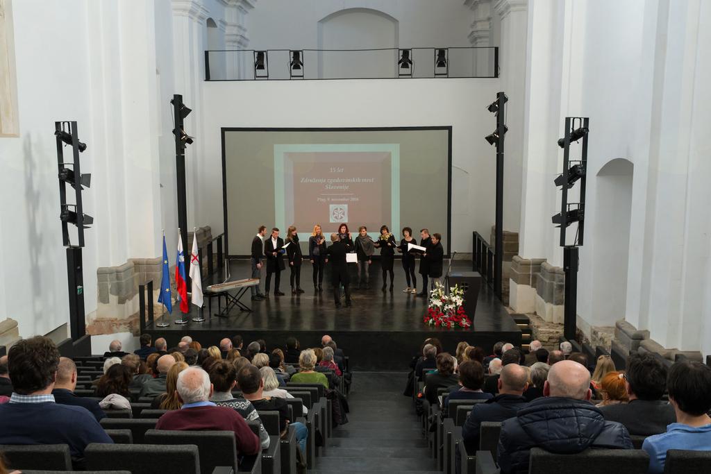 15. letnica Združenja zgodovinskih mest Slovenije