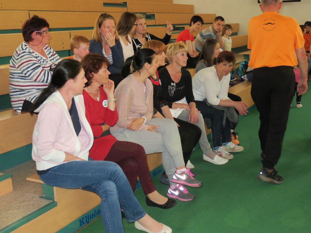 Šport in špas – druženje in gibanje vseh generacij