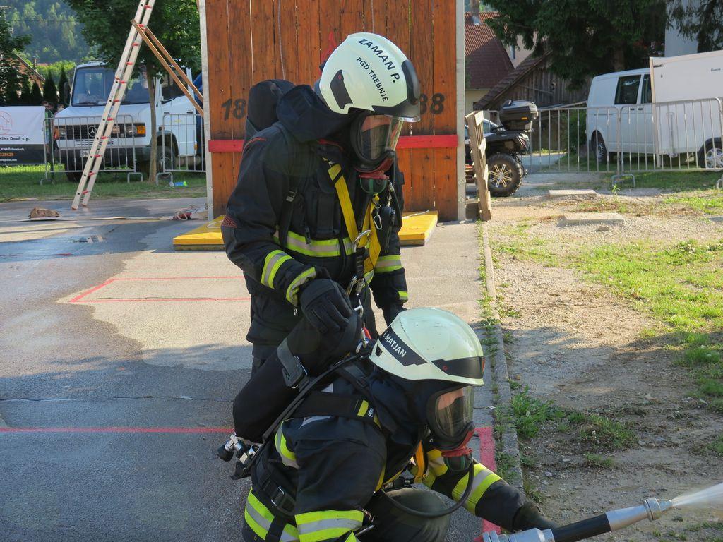Fire Combat v Žužemberku