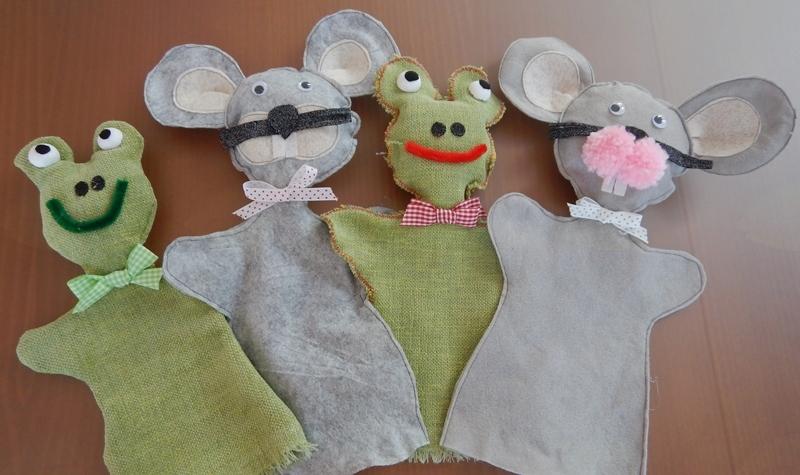 Predstava za otroke Sapramiška