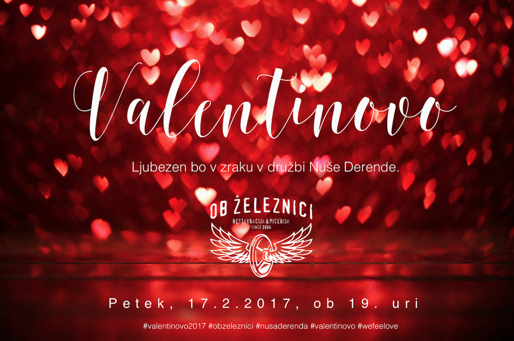Valentinov večer z Nušo Derendo