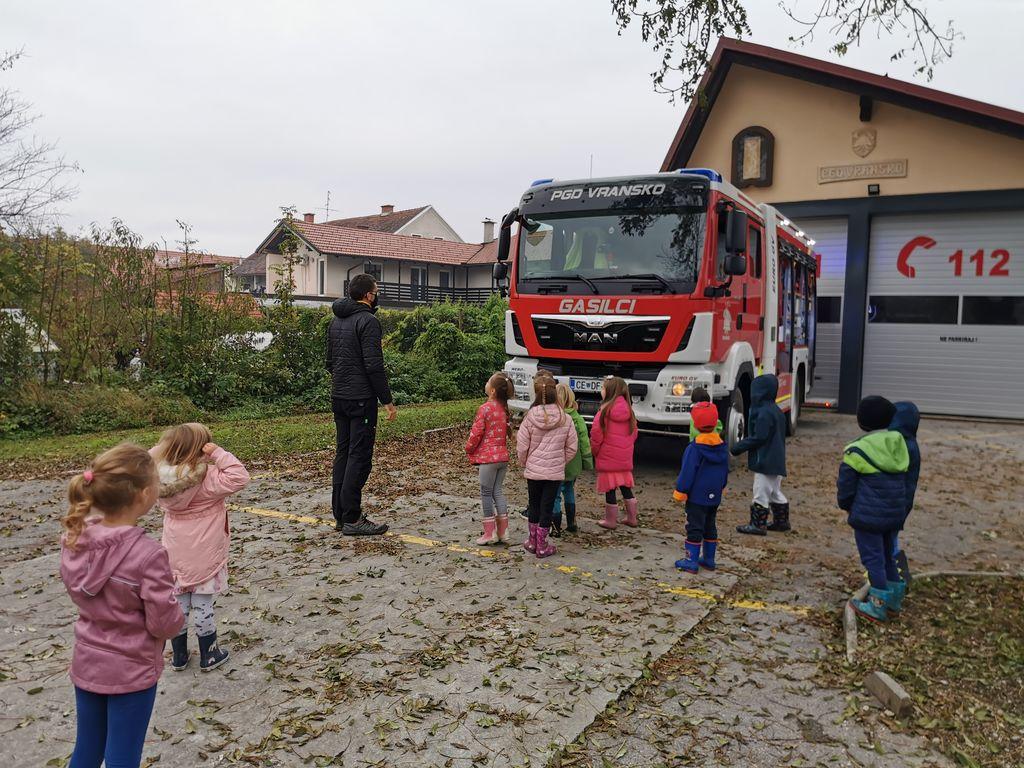 Gasilci vrtca Vransko