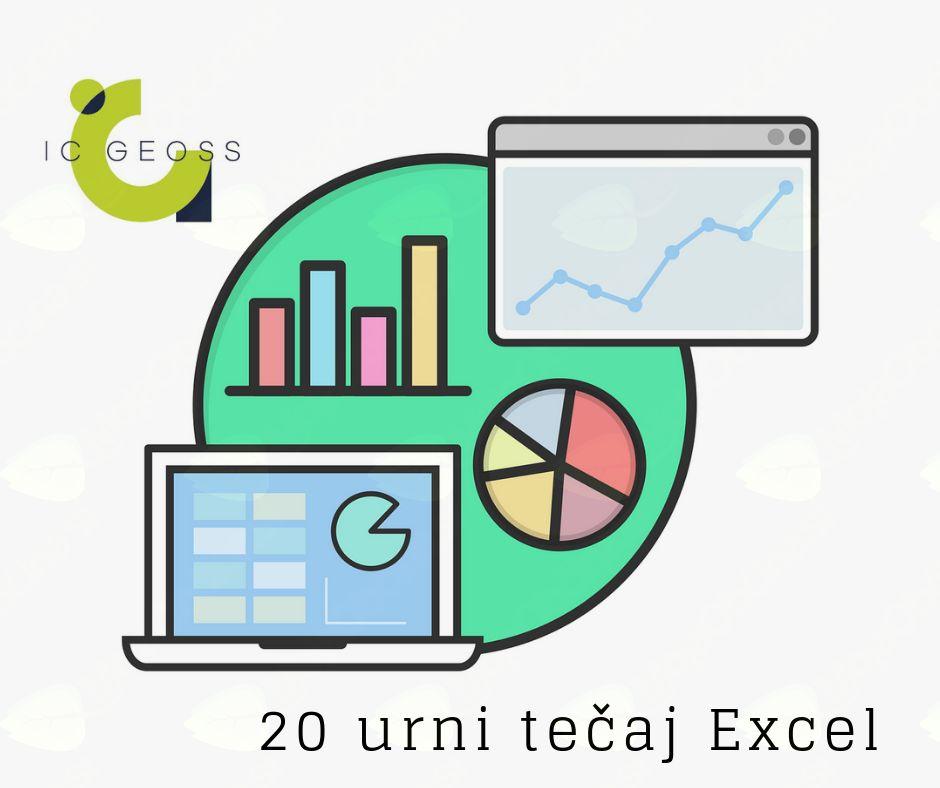Brezplačni računalniški tečaj Excel