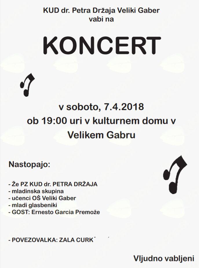 Letni koncert KUD dr. Petra Držaja