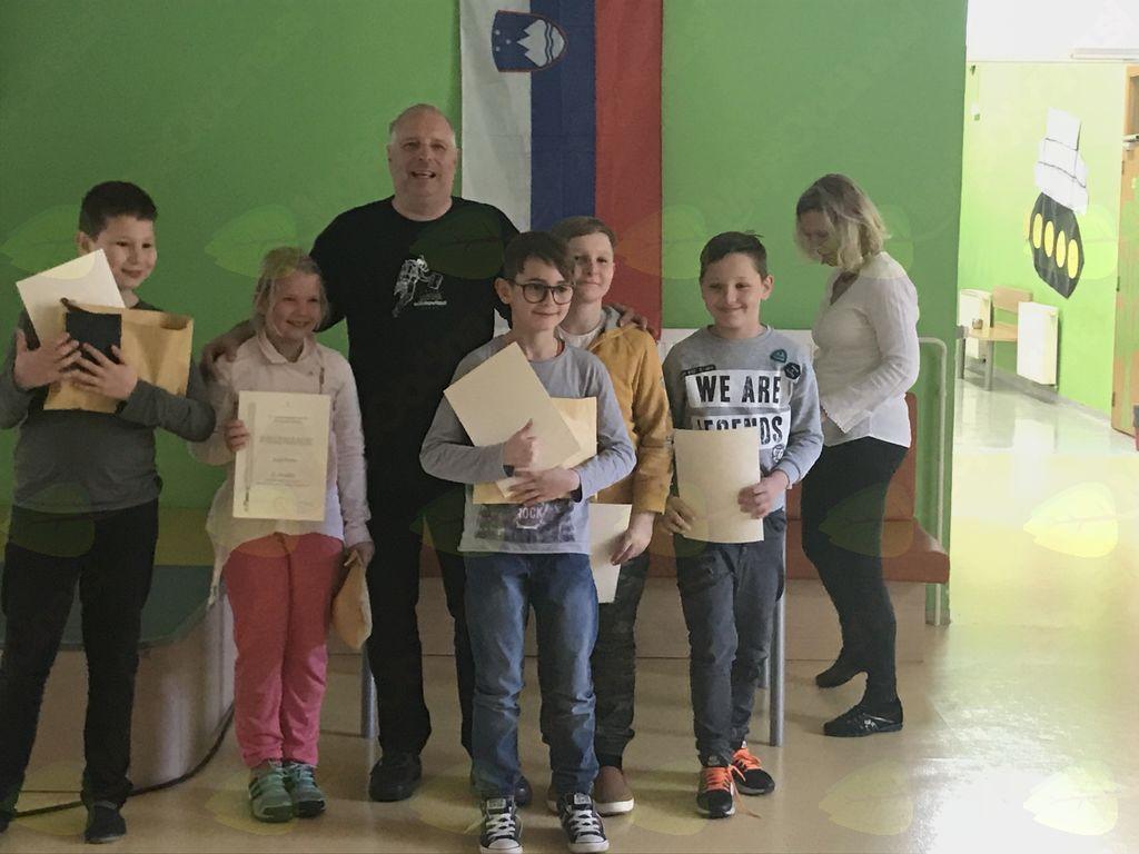 Otilija je osvojila prvo mesto na državnem tekmovanju iz Powerpoint animacije