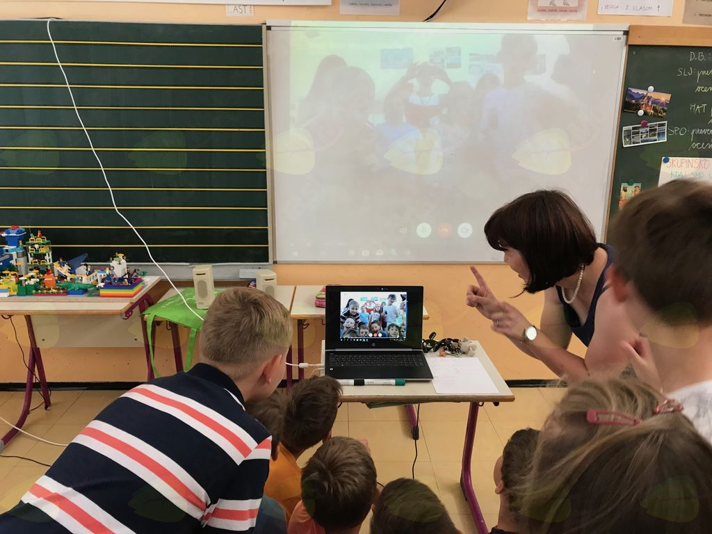 Videokonferenca s francoskimi učenci