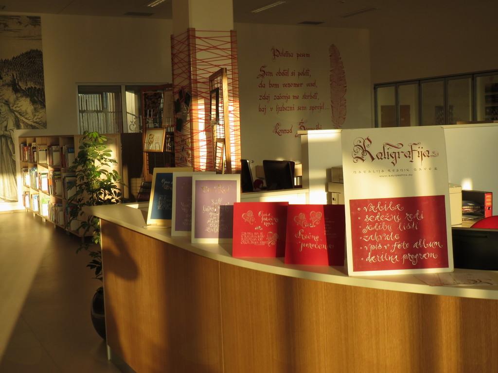 Razstava v Občinski knjižnici Braslovče