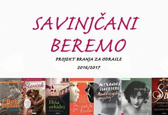 SAVINJČANI BEREMO 2016/2017