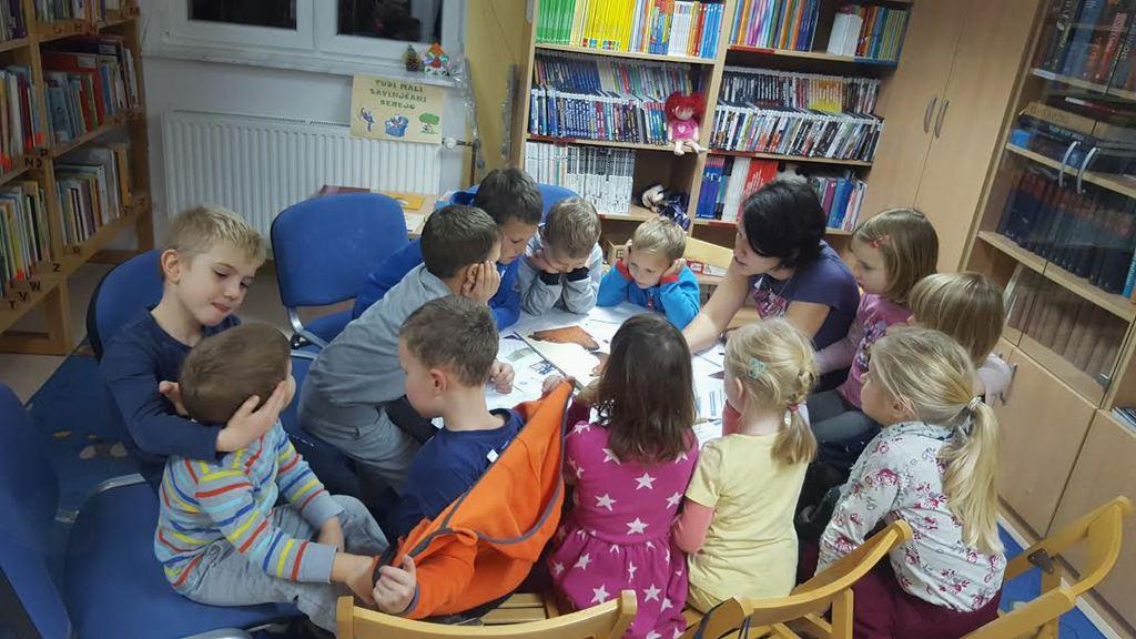 Pravljična ura v Občinski knjižnici Tabor, 29. 11. 2016