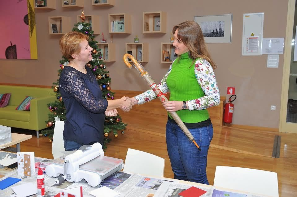 Božično-novoletna ustvarjalna delavnica