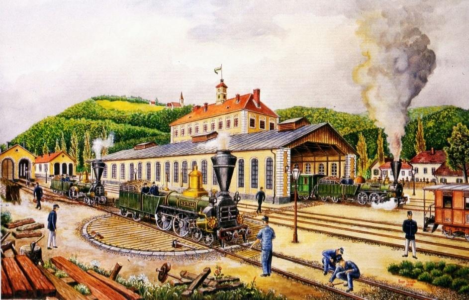 Odprtje razstave Ko železna pride cesta: 170 - letnica prihoda vlaka v Celje