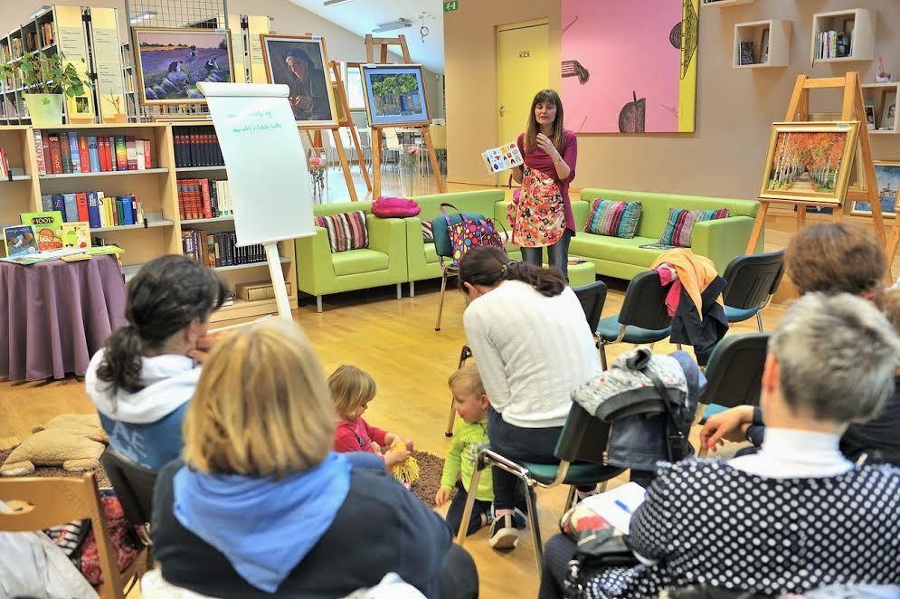 Predavanje Damijane Medved: Zakaj otroku brati?