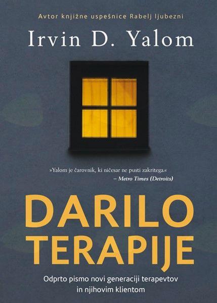 Predavanje o Irvin D. Yalom in predstavitev knjige Darilo terapije