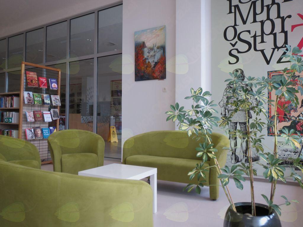 Razstava Likovne sekcije Kulturno-umetniškega društva Žalec v Občinski knjižnici Braslovče