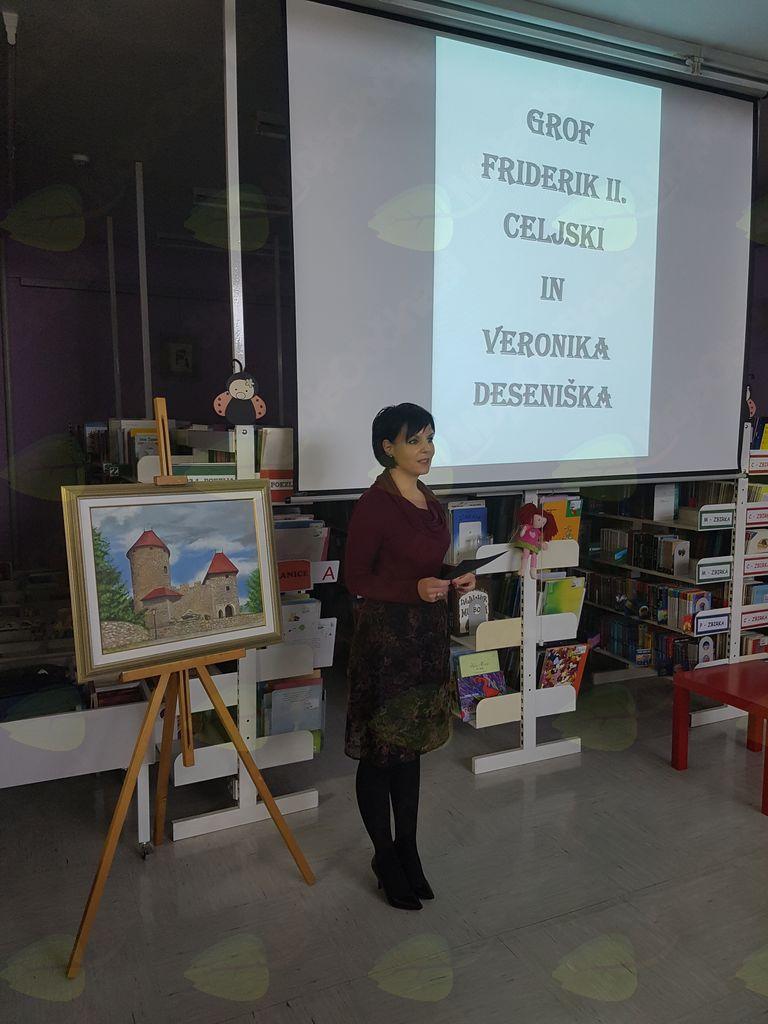 Friderik II. Celjski in Veronika Deseniška