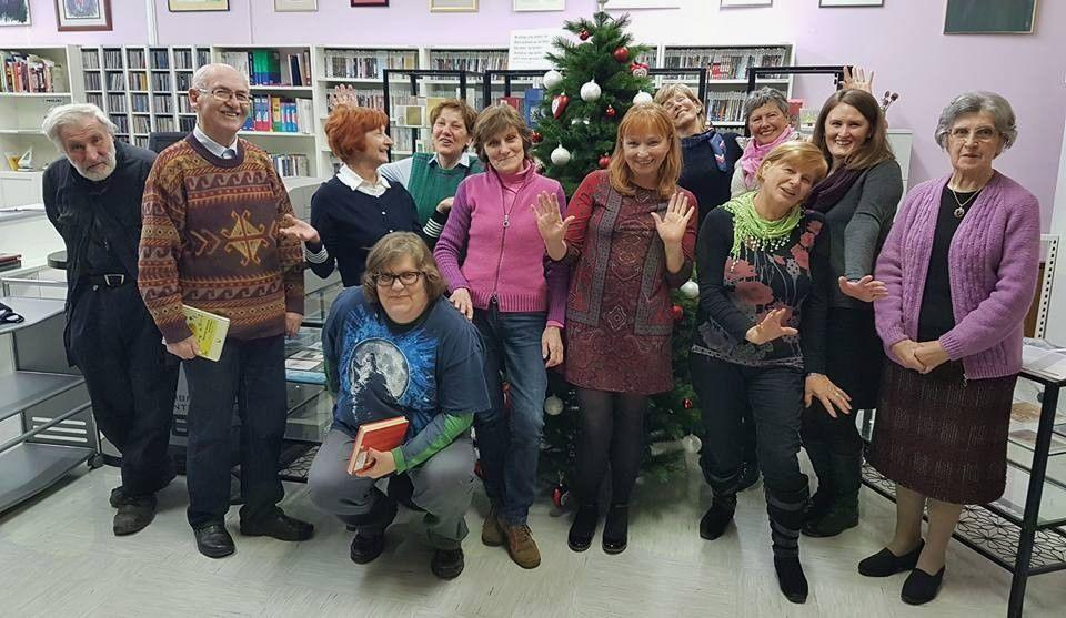 HUMOR JE RESNA STVAR – smeh študijsko bralnega kluba v decembru (sodelovanje Medobčinske splošne knjižnice Žalec in UPI Ljudske univerze Žalec)