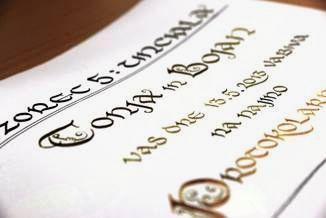 Tečaji lepopisja – kaligrafije z Natalijo Resnik Gavez