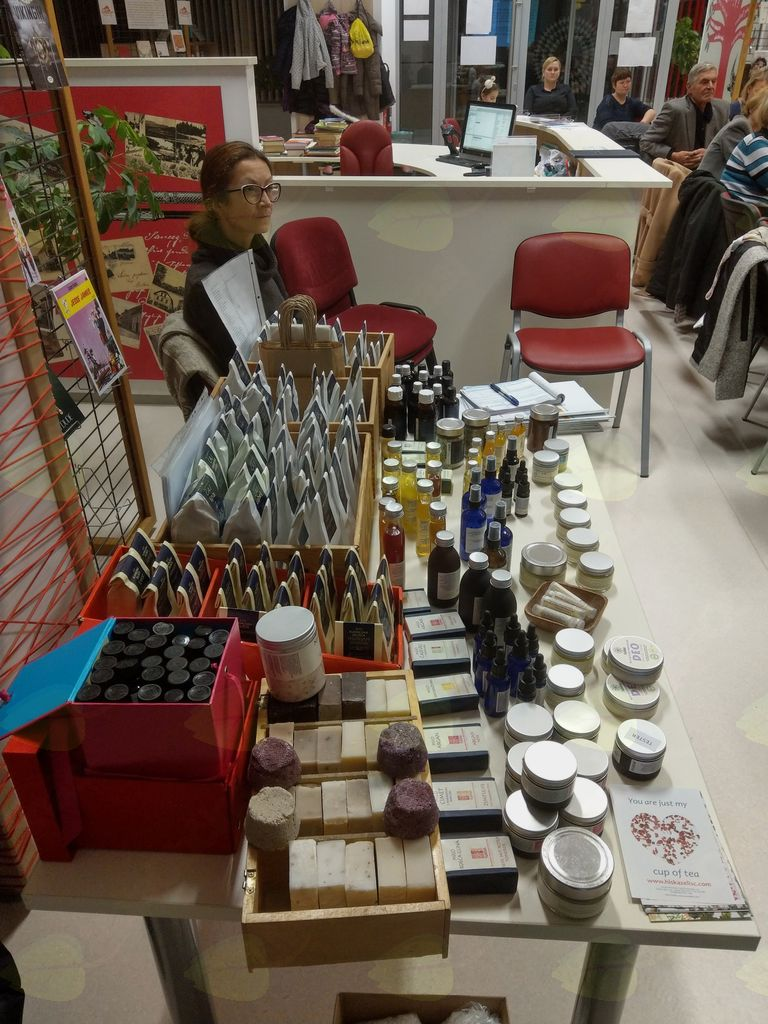 Praktična delavnica Izdelava domače kozmetike iz zelišč