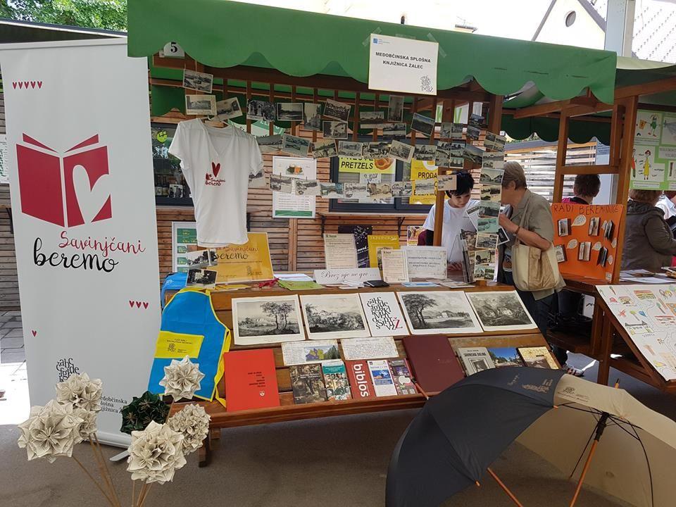 Predstavitev domoznanskega oddelka Medobčinske splošne knjižnice Žalec na Paradi učenja