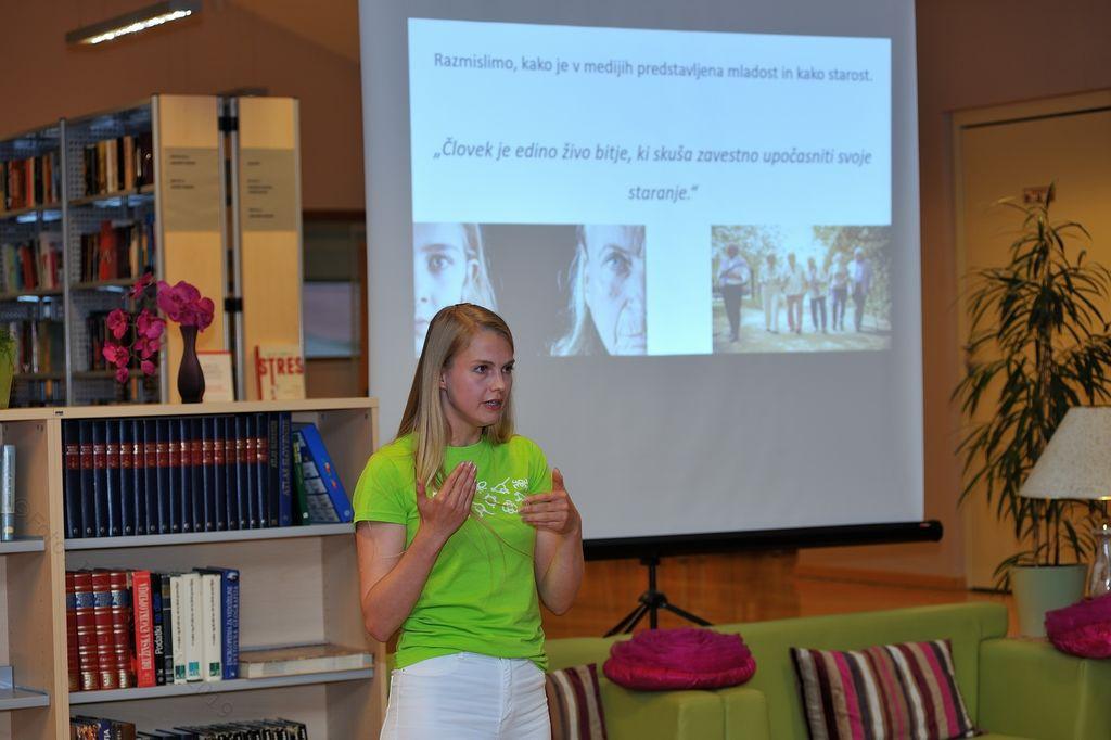 Predavanje Demenca in preventiva v Občinski knjižnici Prebold