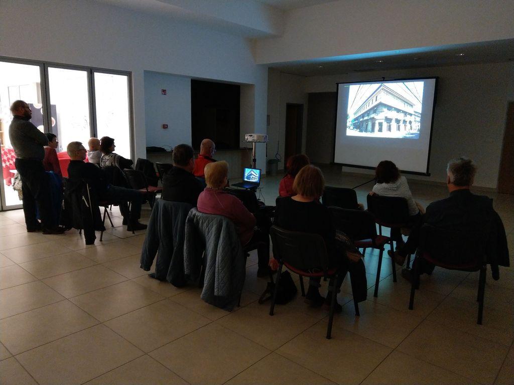 Potopisno predavanje Francija Horvata o Filipinih