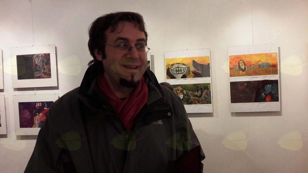 avtor razstave Štefan Turk