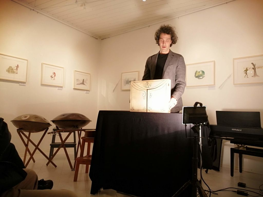 Nagrajene ilustracije Jureta Engelsbergerja v Lični hiši