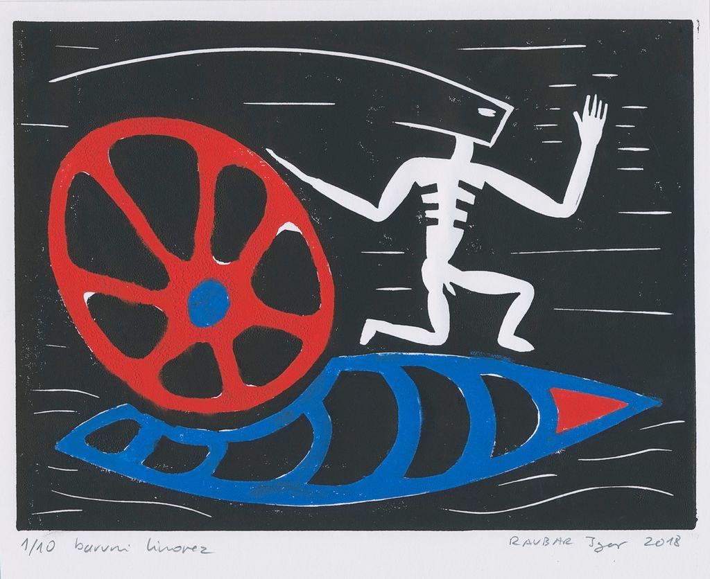 V Lični hiši v soboto odpirajo razstavo grafik Igorja Ravbarja