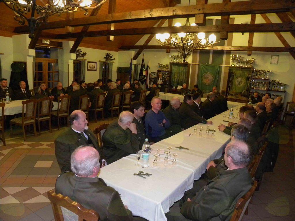 Zbrani na občnem zboru LD Oplotnica  foto KunejB.
