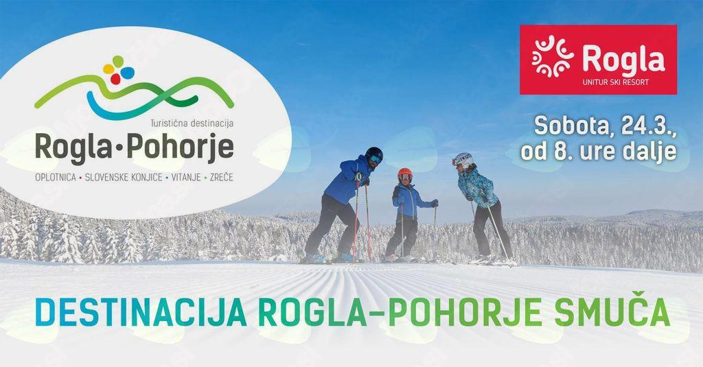 Destinacija Rogla - Pohorje smuča