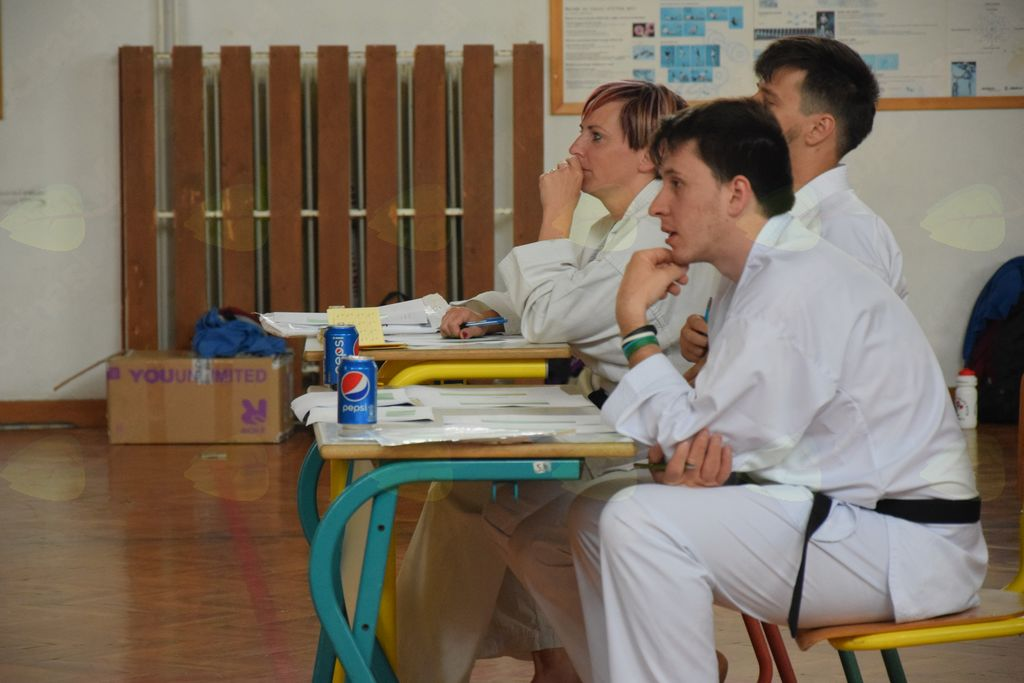 Karate kamp Dobrna in izpiti za pasove