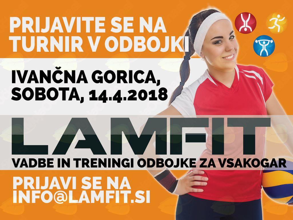 4. veliki Lamfit turnir v odbojki! SŠJJ Ivančna Gorica 14-4-2018