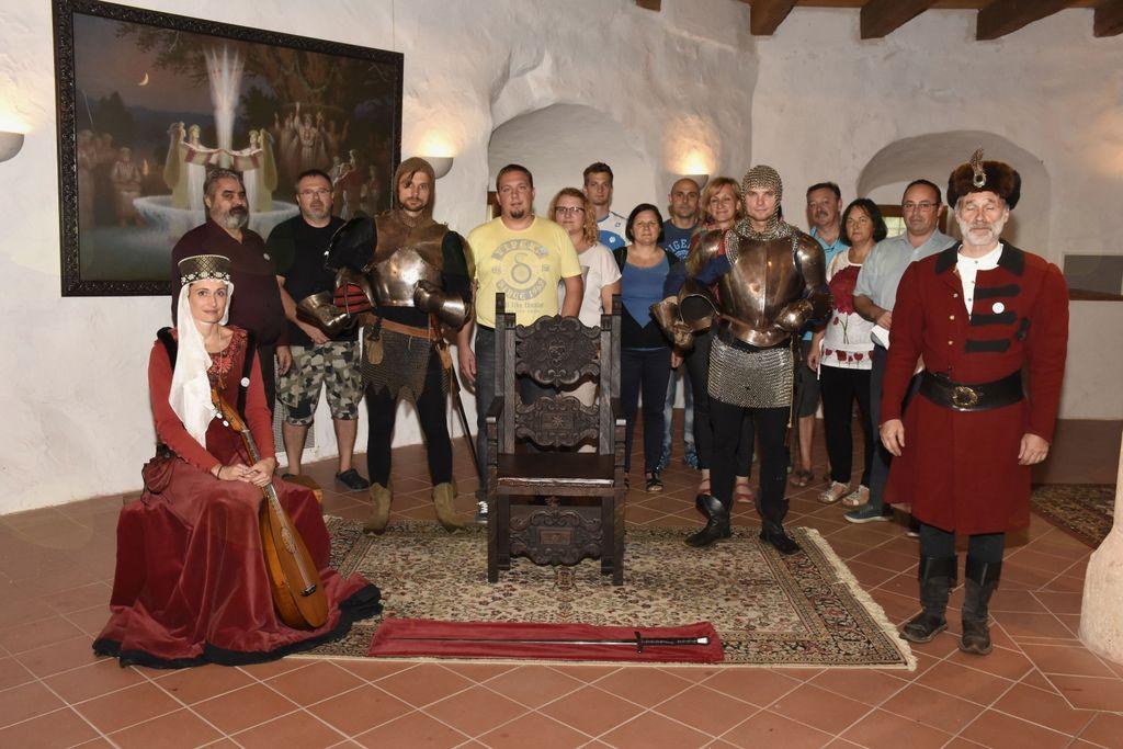 Grajski dan s tekmovanjem za viteza piva slovenskih pivovarjev