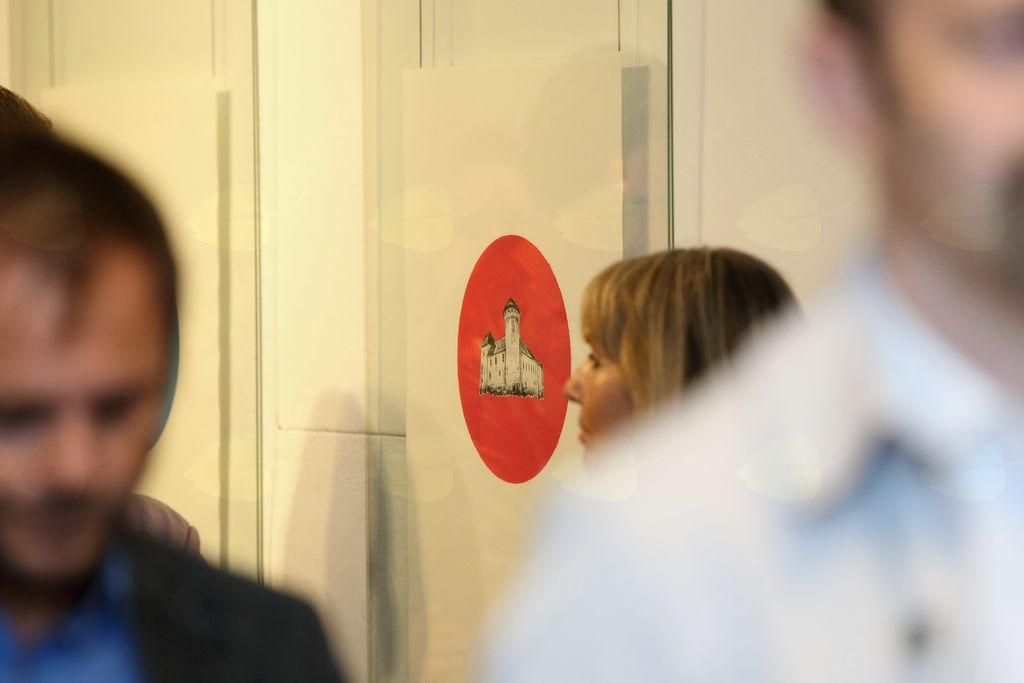 Odprtje razstave IV. Valvasorjevih mednarodnih grafičnih dni