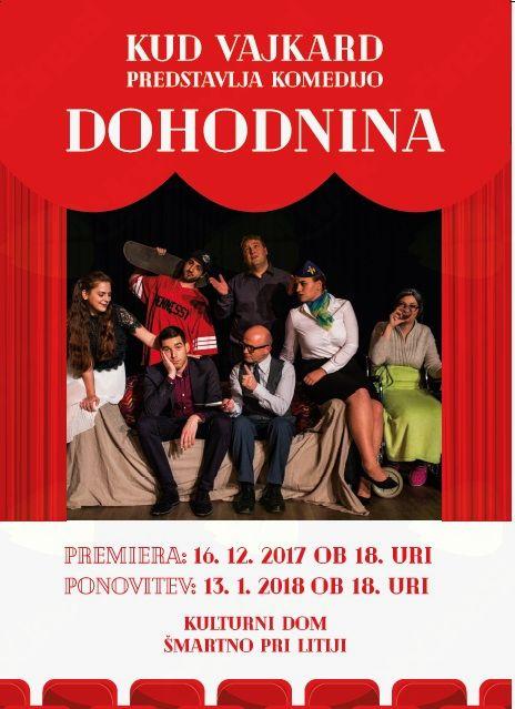 Gledališka predstava, komedija DOHODNINA