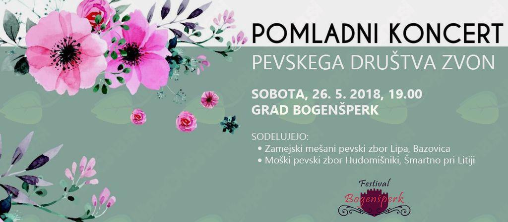 Pomladni koncert Pevskega društva ZVON