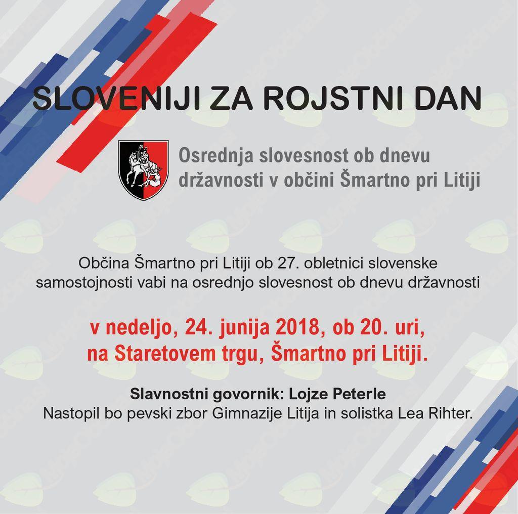 Sloveniji za rojstni dan