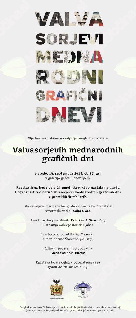Pregledna razstava Valvasorjevih mednarodnih grafičnih dni