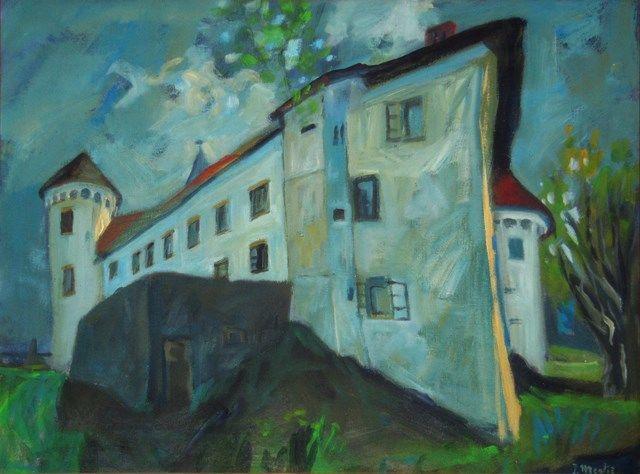 Odprtje likovne razstave akademskega slikarja Jožeta Megliča